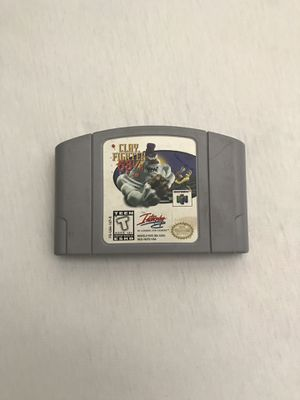 Nintendo 64 Game:Clayfighter 63 1-3 Cartridge Plays Fine Good Condition for Sale in Reedley, CA