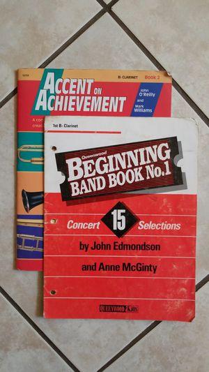 Bb Clarinet Method Books for Sale in Scottsdale, AZ