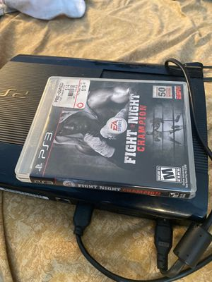 PS3 & Fight Night Champion for Sale in Hercules, CA