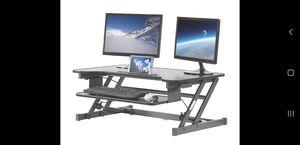 Stand Up Adjustable Desk Top for Sale in Des Plaines, IL