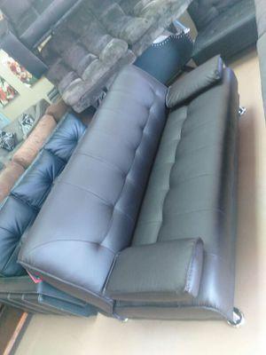 Futon bonded leather New COME TO STORE for Sale in Modesto, CA