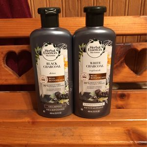 Herbal Essences Black Charcoal Shampoo And Conditioner for Sale in Hamburg, NY