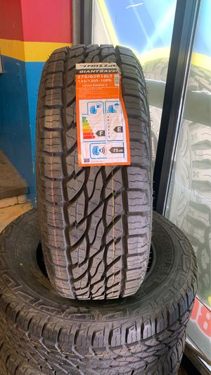 New set 275-65R18 LT, Mazzini tires for Sale in Raleigh, NC