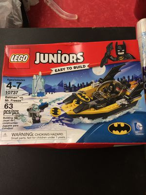 Juniors easy to build number 10737 Lego Batman versus Mr. freeze for Sale in Coats, NC