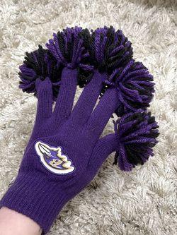 Baltimore Ravens Pom Pom spirit Fingers for Sale in Lutherville-Timonium,  MD