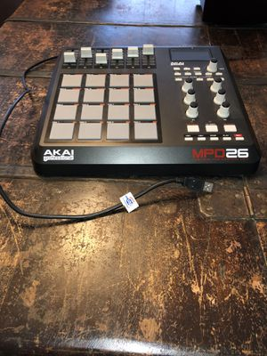 Akai Professional MPD26 USB/MIDI Pad Controller for Sale in Fairfax, VA