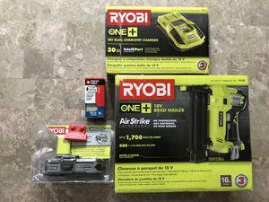 RYOBI 18-Gauge Cordless Brad Nailer Gun for Sale in Staten Island, NY