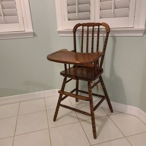 High Chair Wooden for Sale in Yucaipa, CA