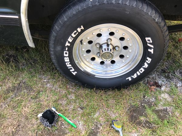 Trade rims and tires for another 5 lug setup