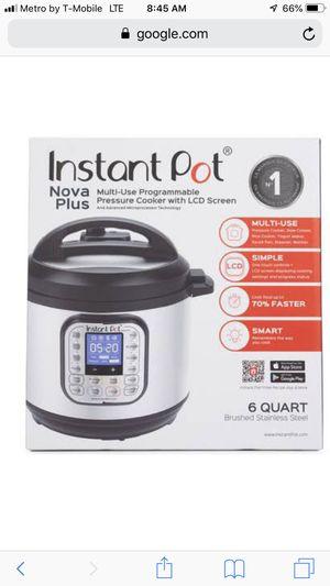 New instant pot pressure cooker multipurpose user 9 in 1 , for Sale in Cerritos, CA