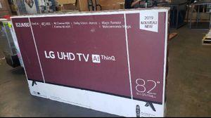 82 LG UHD TV AI THINQ for Sale in Grand Terrace, CA