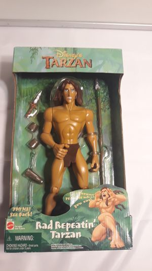 (Rare)Disney's Tarzan Doll 1999 (banned and recalled for Sale in Los Angeles, CA
