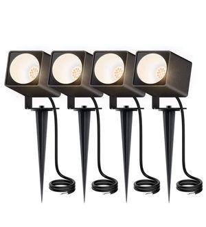 4 LED Outdoor Landscape Lights Cast for Sale in Silver Spring, MD