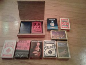 Playing cards. $5 each for Sale in Highland Park, IL
