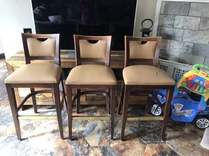 Bar stools chairs for Sale in Rowlett, TX
