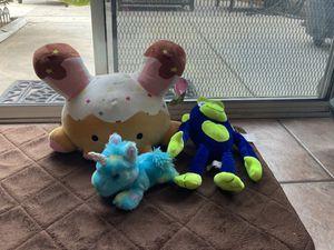3 stuffed animals for Sale in Orange, CA