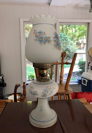 Antique Hurricane table lamp for Sale in Asheboro, NC