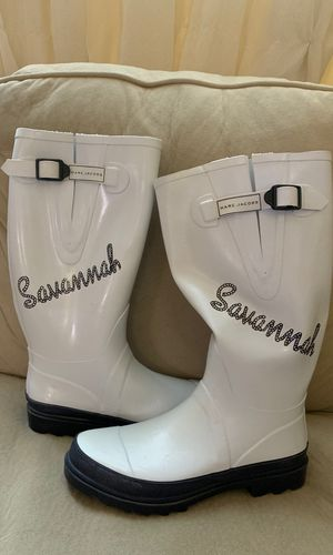 NEW Savannah Marc Jacobs authentic rain boots size 40 for Sale in Miami, FL