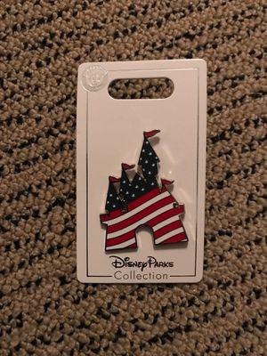 Disney parks United States flag castle pin for Sale in Lodi, CA