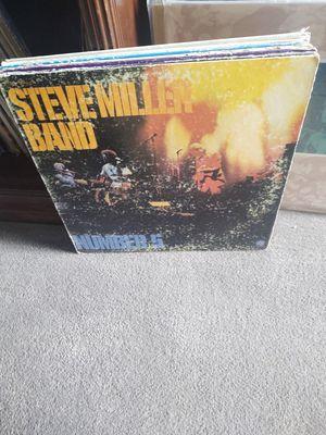 Steve Miller Band- Number 5 vinyl for Sale in West Jordan, UT