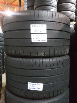 295/30ZR19 MICHELIN PILOT SUPER SPORT 295 30 19 High Performance Tires for Sale in Fort Lauderdale, FL
