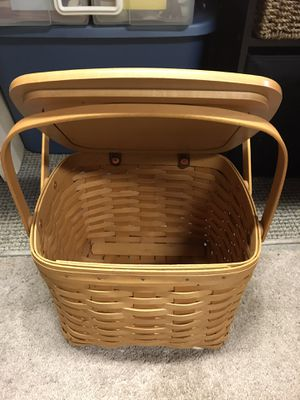 Longaberger basket for Sale in Clinton Township, MI