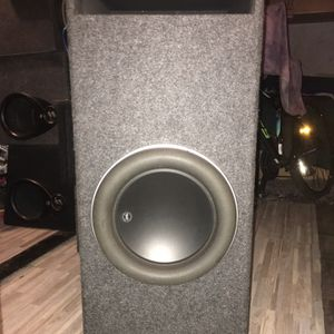12w7 Jl Audio Subwoofer W/custom Ported Box!! for Sale in Lakeside, CA