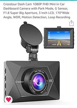 Crosstour dash cam -brand new for Sale in Burbank, CA