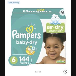 Pampers Size 6 for Sale in Bell, CA