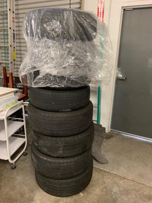8 tires and 8 rims for Sale in San Diego, CA