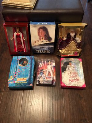 6 collectible Barbie dolls $75 price absolutely firm for Sale in Katy, TX