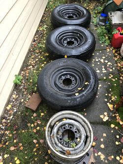 16 in trailer wheels tires for Sale in Woodburn,  OR