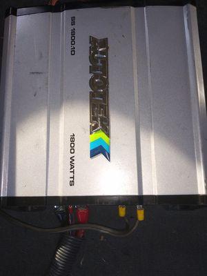 "Autotek 1800.1d & 15"" Power Bass 3xl for Sale in Waco, TX"