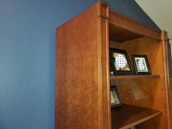 Executive Bookcase / File Cabinet $300