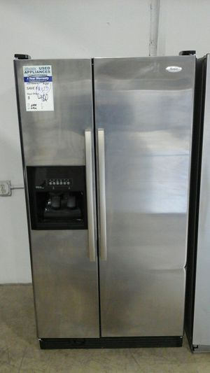 Whirlpool Side by Side Refrigerator. Affordable82 for Sale in Denver, CO