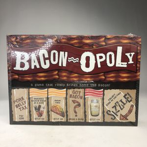 Bacon-Opoly By Late For The Sky A Game That Really Brings Home The Bacon! for Sale in Miami, FL