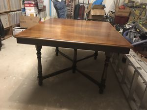 Early 1800s custom handmade antique oak table!!! Does not have leafs for Sale in Denver, CO