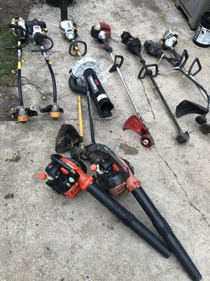 String trimmer and blower lot (for parts or repair) for Sale in Schaumburg, IL