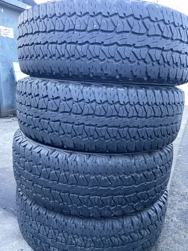 4 good use tires Firestone 245/65/17