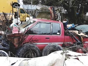 Wrecked Mazda truck for parts for Sale in Brooks, OR