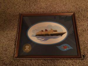 Disney Cruise Line Ship Pin Set Framed for Sale in Murfreesboro, TN