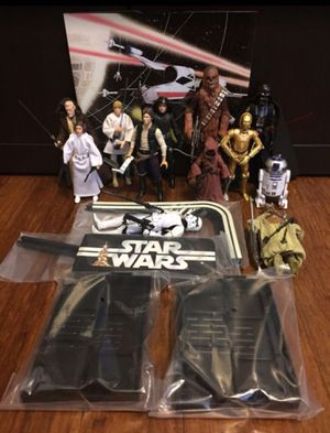 """Star Wars black series 40th Anniversary 6"""" Action Figure Set for Sale in Los Angeles, CA"""