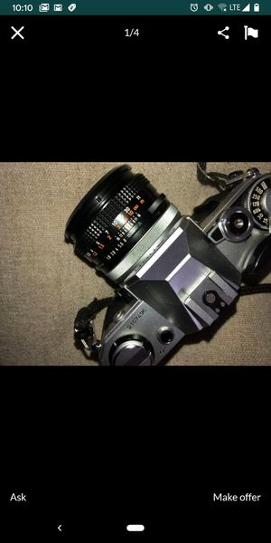 Vintage AE-1 Canon 35mm for Sale in Colton, CA