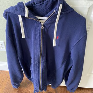 Polo Hooded Jacket -Size Large for Sale in Rancho Cucamonga, CA