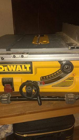 DeWalt table saw for Sale in Dallas, TX