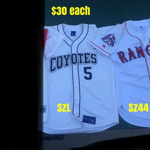 Baseball Jerseys Authentic All Stitched $30 Each Bats Gloves Equipment for Sale in Los Angeles, CA