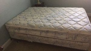 Full Mattress Set with frame for Sale in Galt, CA