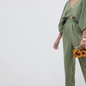 ASOS Design Jumpsuit with Kimono Sleeve and Peg Leg for Sale in Washington, DC