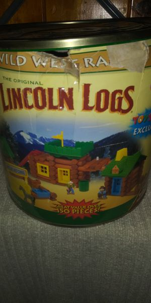 Lincoln logs for Sale in Lancaster, CA