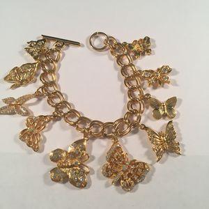 Butterfly charm bracelet for Sale in Austin, TX